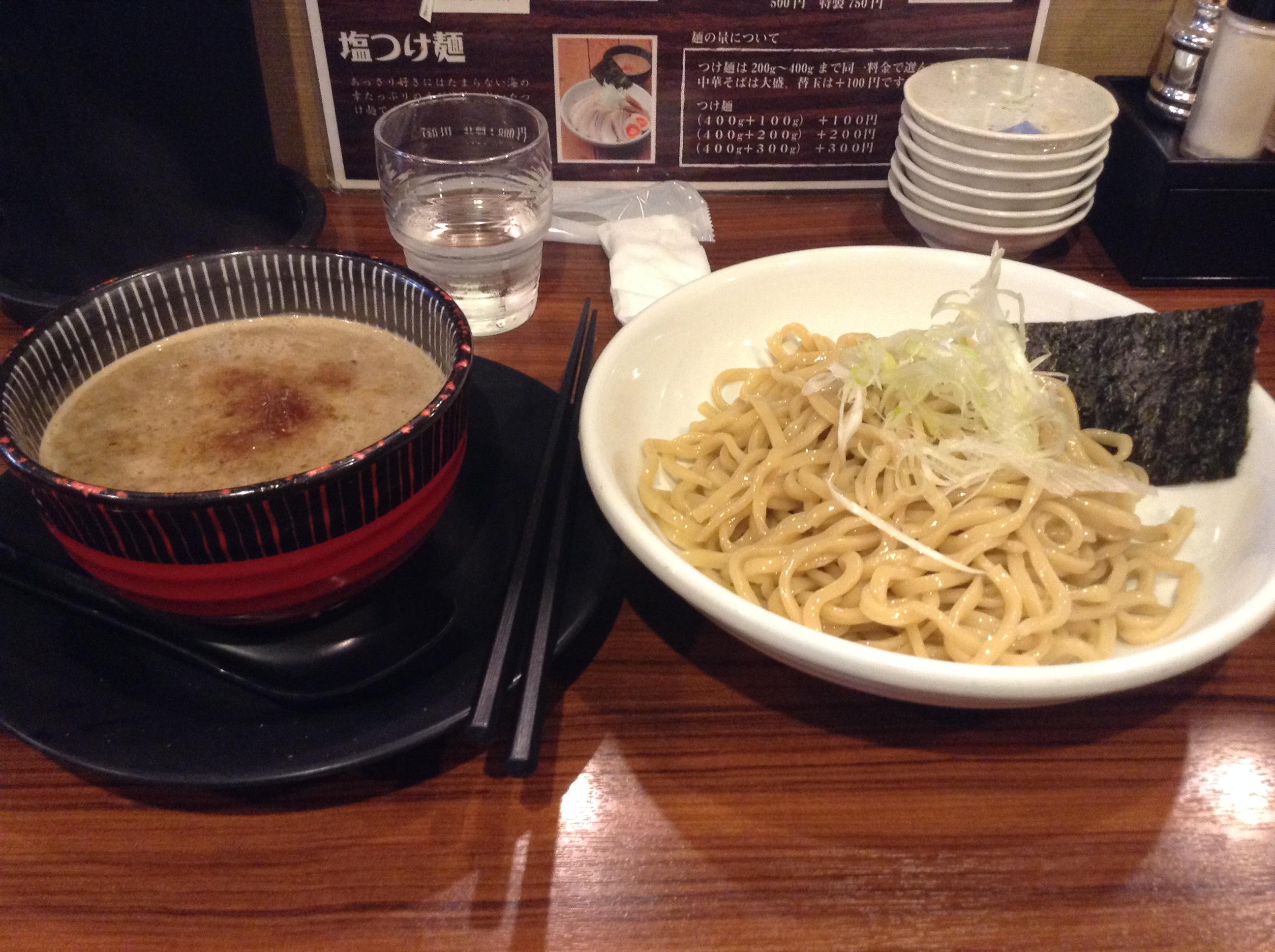 大阪・堺市「麺屋もず」で美味しいつけ麺を食べた