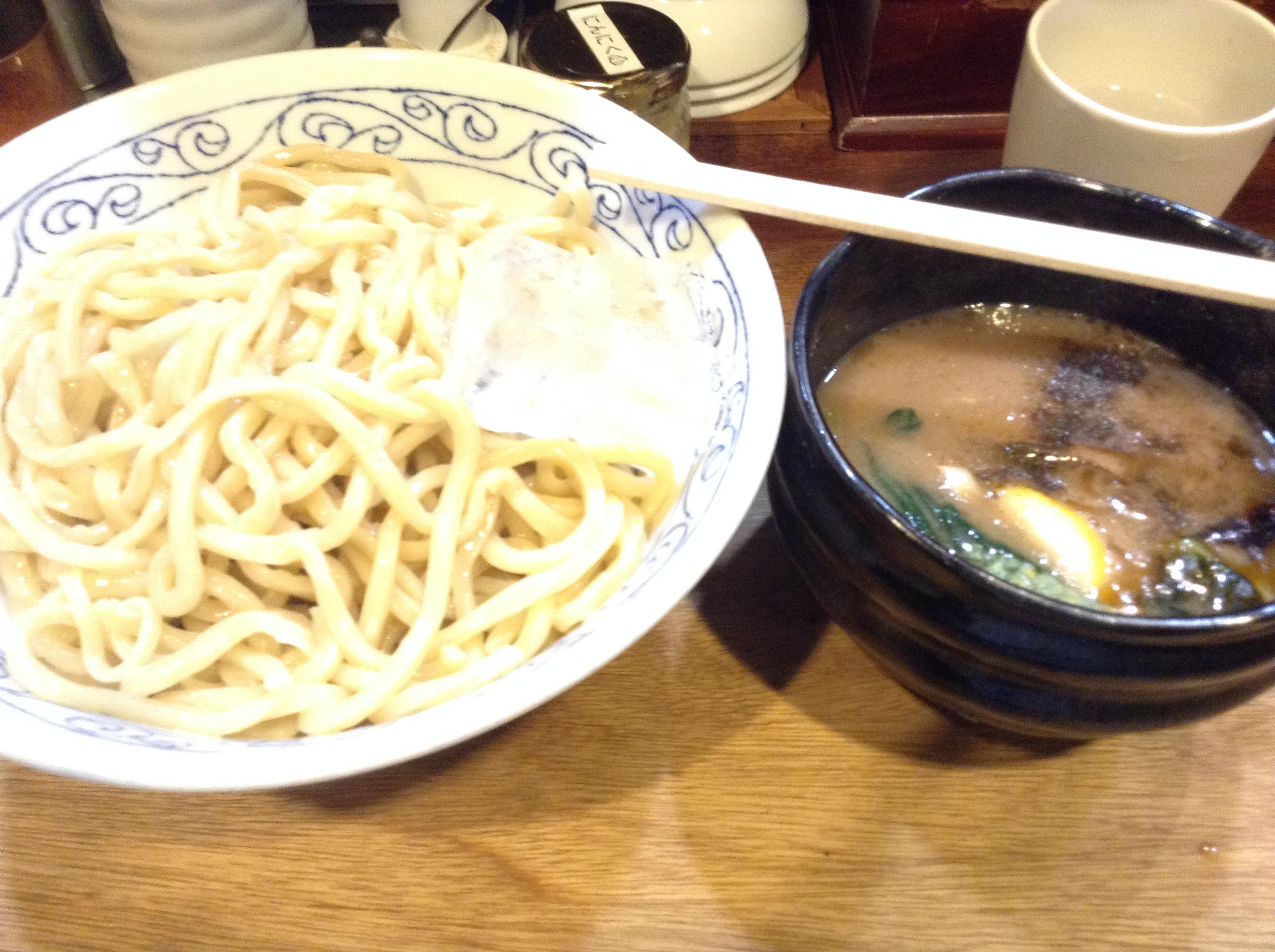 大阪・堺市「麺座ぎん」でつけ麺を食べた