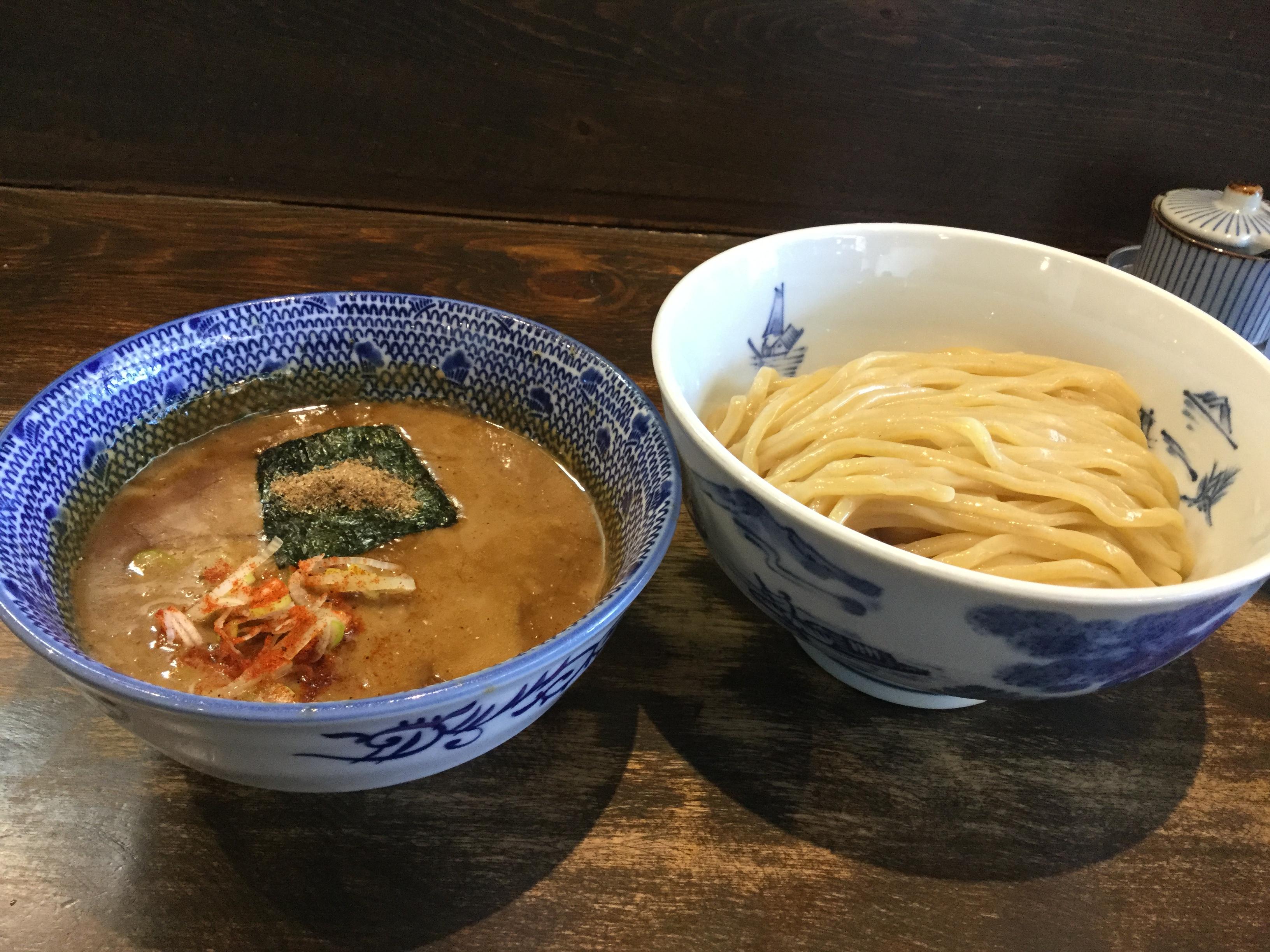 沖縄・沖縄市「つけ麺ジンベエ」のつけ麺は最高に美味しかった
