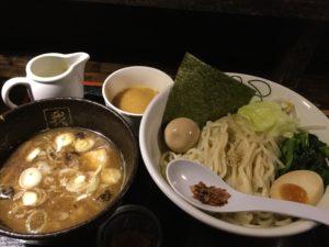 沖縄・中城村「我流家」でつけ麺を食べた