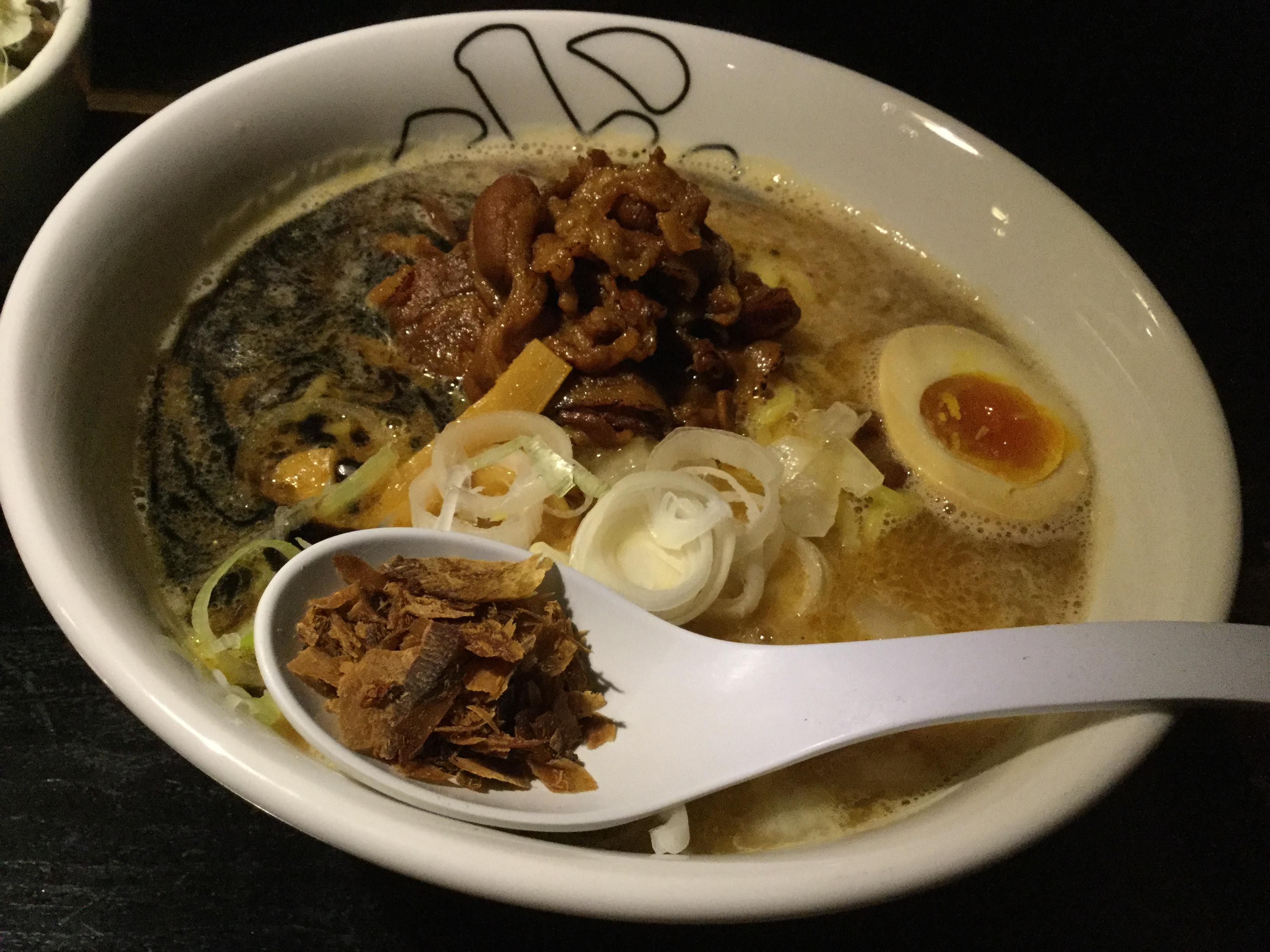 沖縄・中城村「我流家」でラーメンを食べた
