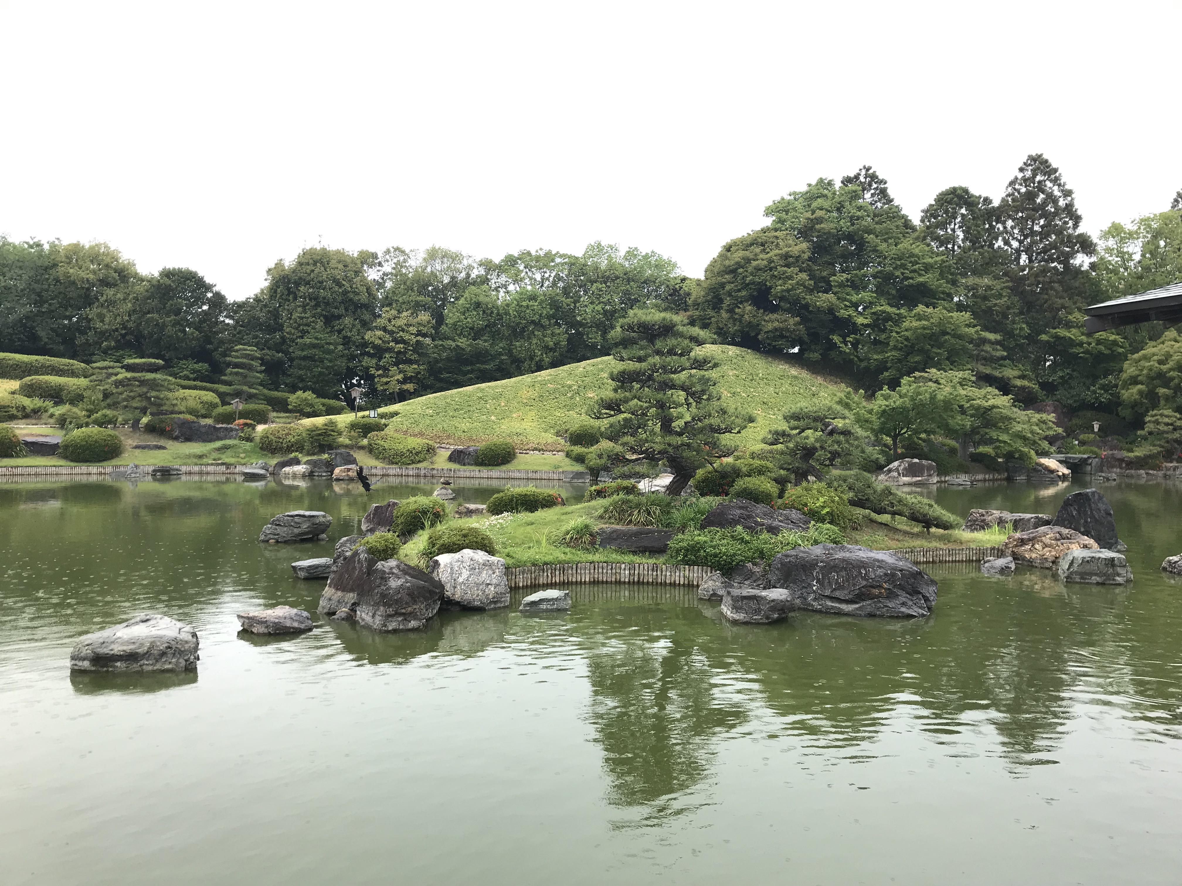 大阪・堺市「大仙公園・日本庭園」大仙古墳とセットでみたい日本庭園