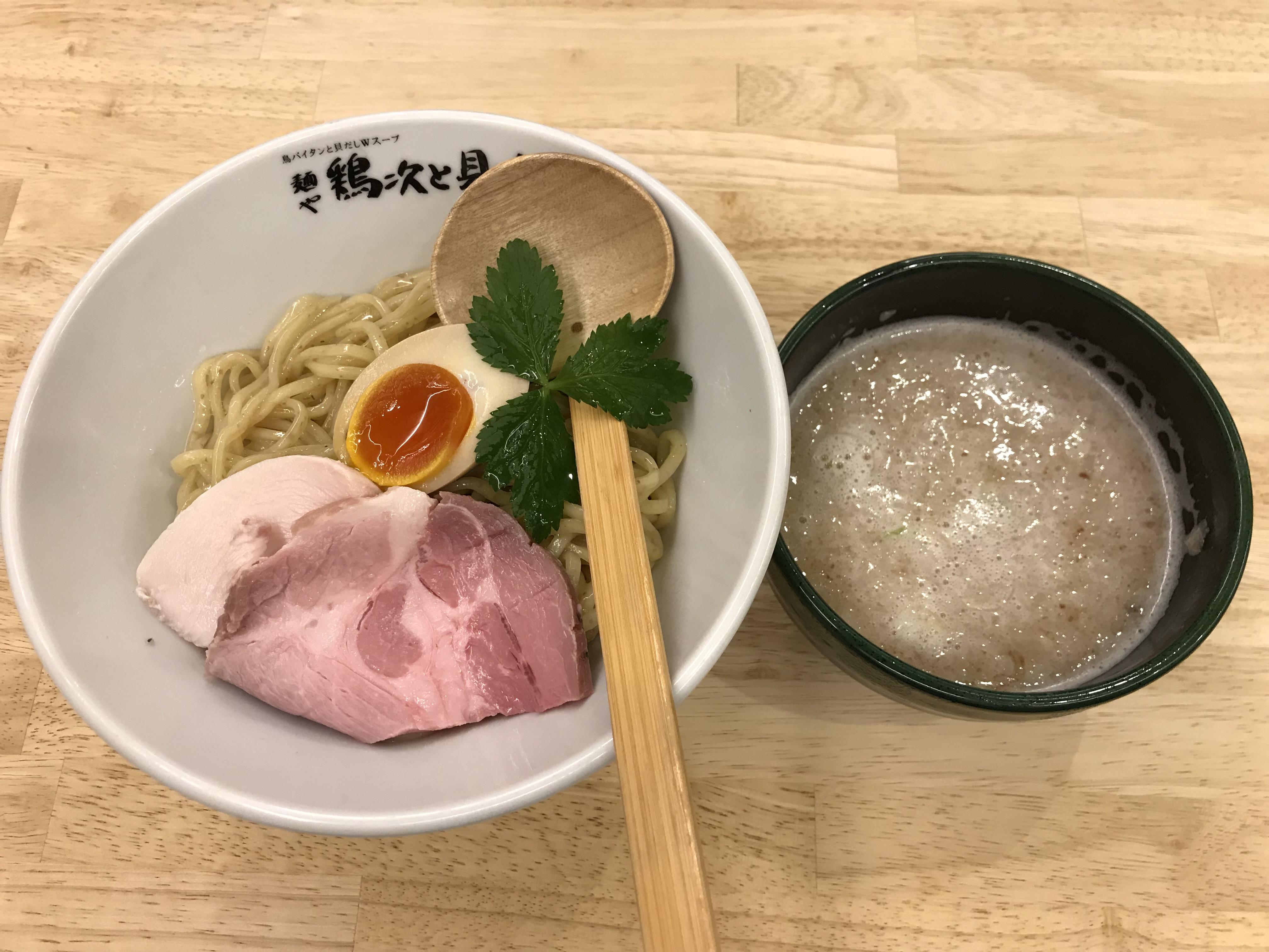 大阪・堺市「麺や 鶏次と貝次」でつけ麺を食べてきた