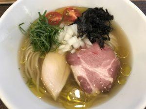 沖縄・西原町「らぁ麺 やな木」不定期のらぁ麺が超うまい