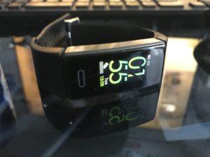 「BLENCKスマートウォッチ」運動を記録して健康を管理する時計